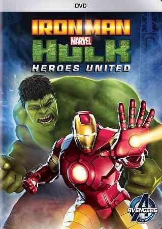 Iron Man & Hulk-Heroes United (Dvd)