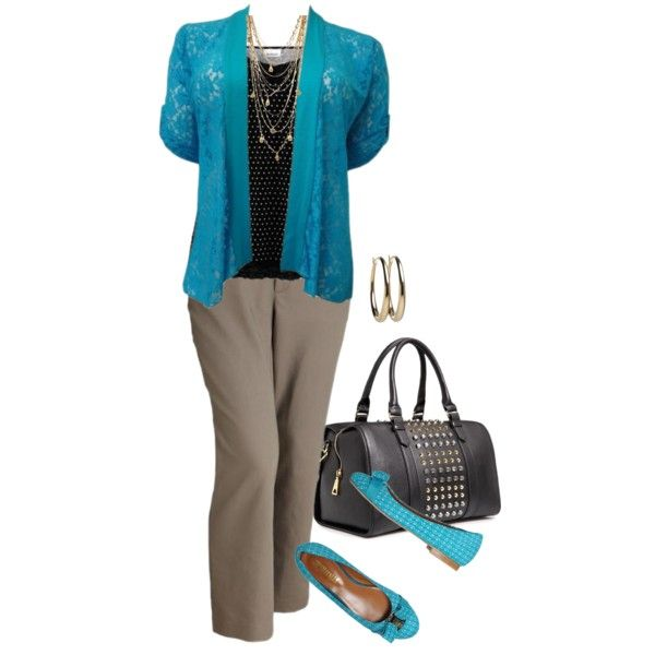 Work Wear - Plus Size, created by tajarl on Polyvore