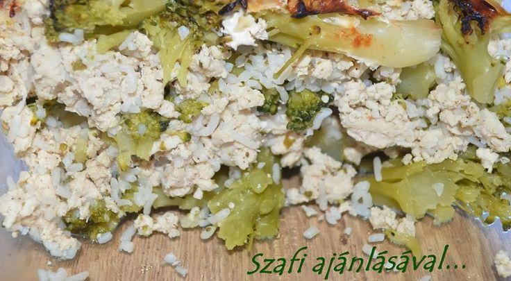 Éhezésmentes Karcsúság Szafival: Rakott brokkoli Nocarb rizsszemtésztával (paleo rakott brokkoli)