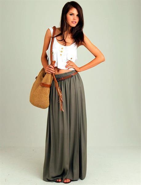 Подходит ли длинная юбка невысоким девушкам