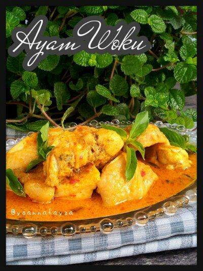 Ayam woku indonesian food lunches and food for Azian cuisine menu