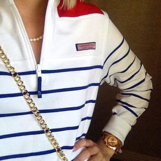 Shop Pullovers: Stripe Shep Shirt for Women | Vineyard Vines