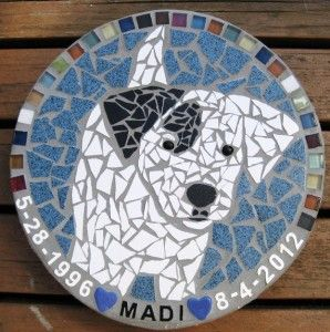 dog angel mosaics - Google Search