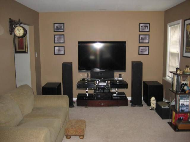 Home Theater Horrid Room Forum Systems Living Installation