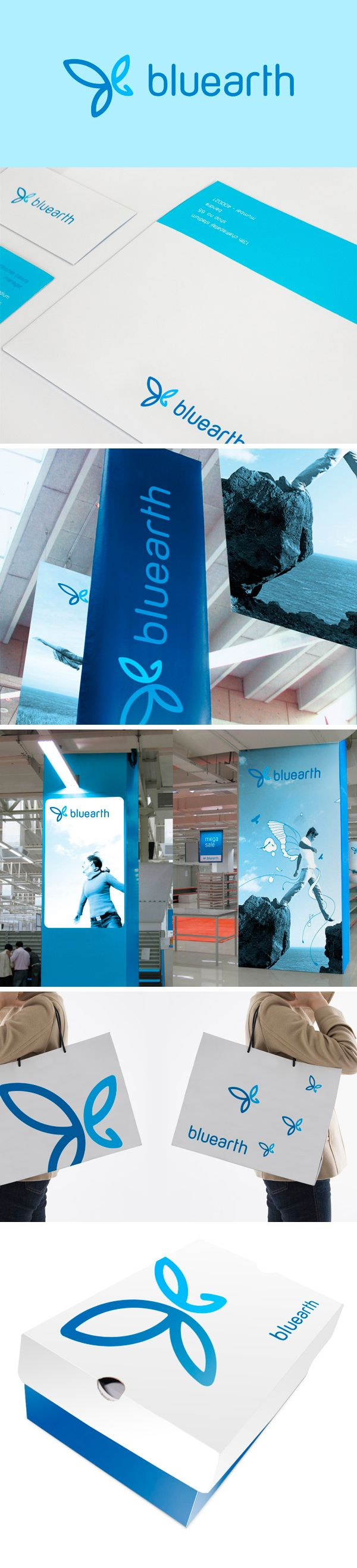 Bluearth #identity #packaging #branding PD