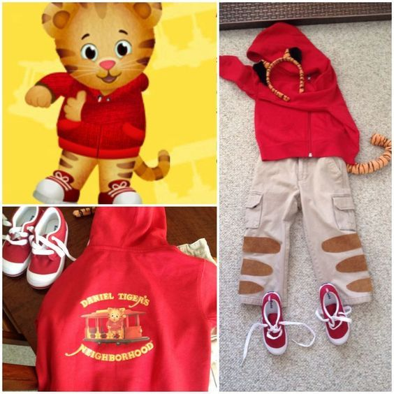 1000+ ideas about Daniel Tiger Costume on Pinterest | Tiger ...