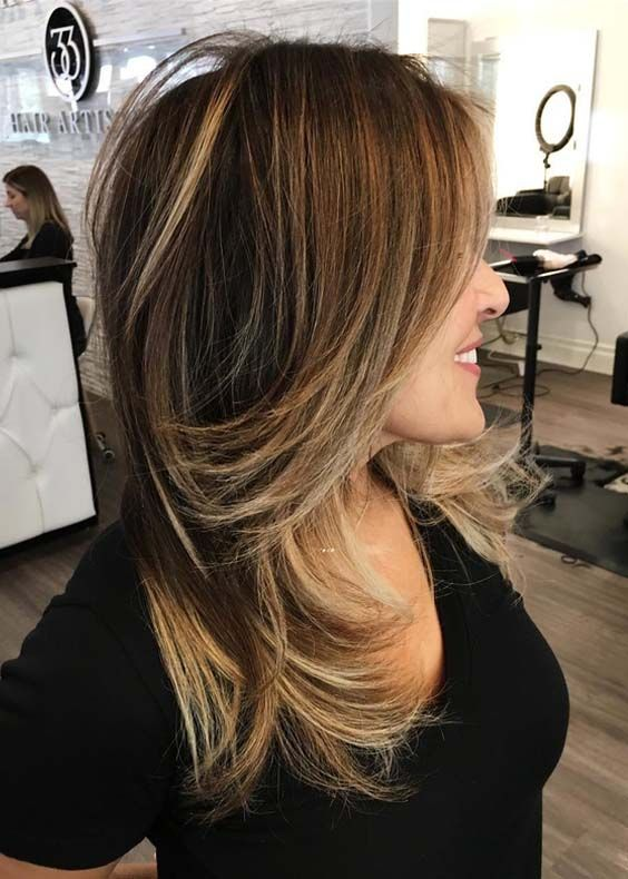 20 Best Balayage Hair Color Ideas for Fine Hair 2018 | hairstyles ...