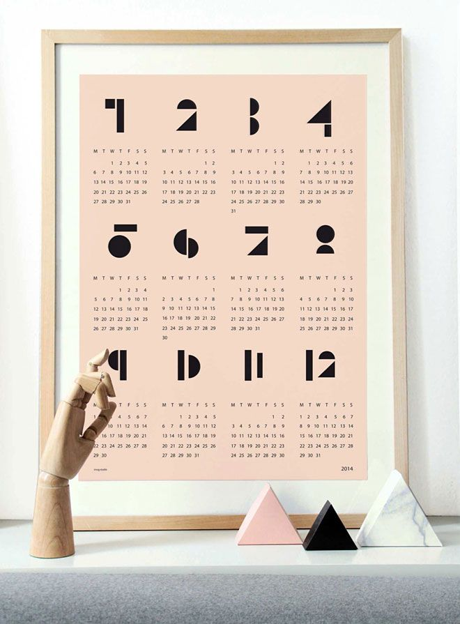 Snug Studio 2014 Calendar