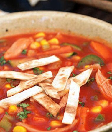 Mexická polévka Maya.