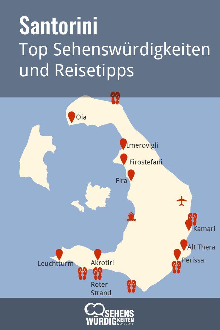 Santorini Und Seine Sehenswurdigkeiten Entstanden Ist Die Insel