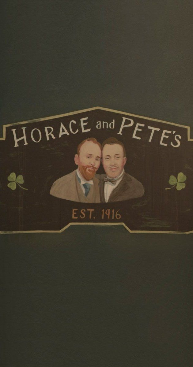 """series about two brothers, introverted Horace and mentally ill Pete, the current owners of their family's Irish bar """"Horace and Pete's"""", and their dysfunctional family and friends."""