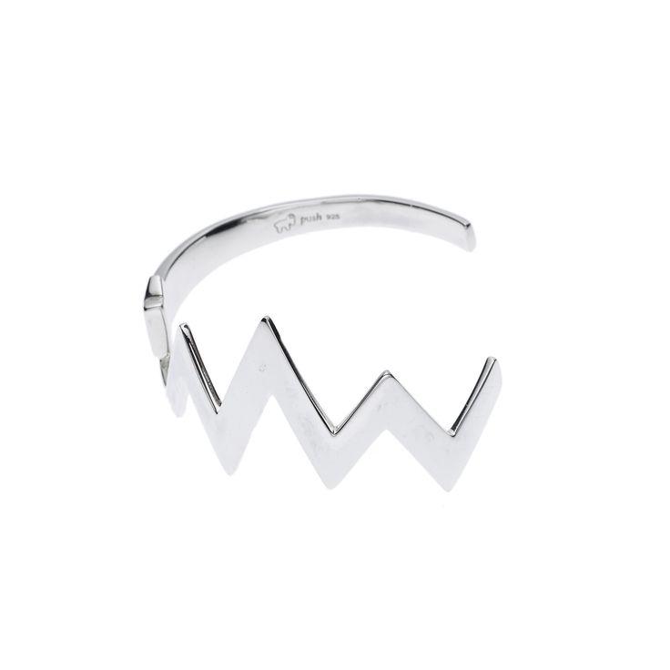 PUSHMATAAHA // WARRIOR CUFF in 925 Sterling Silver
