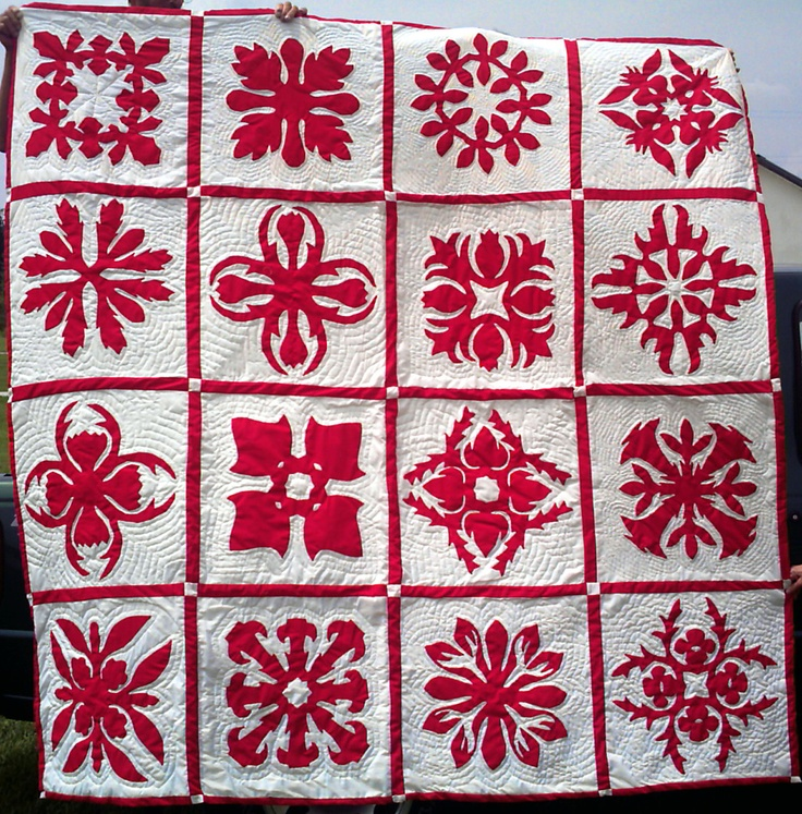 they have distinct quilts pin quilt elements four hawaiian from traditional