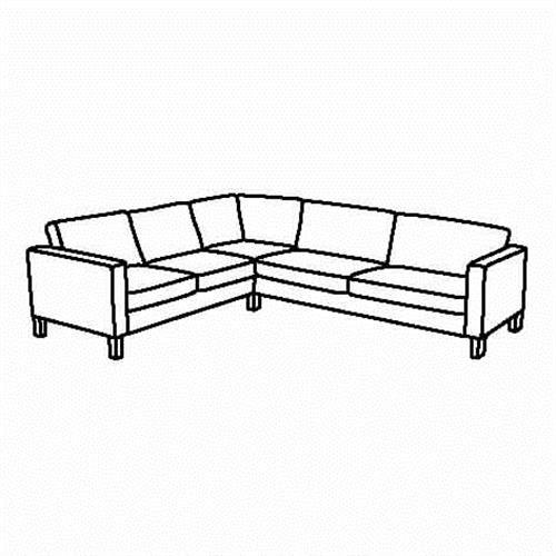 KARLSTAD Σκελετός γωνιακού-καναπέ - IKEA