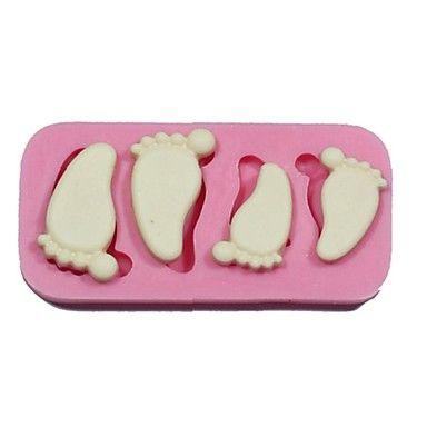 Cake Decorating Baby Feet : 25+ unique Forma de silicone ideas on Pinterest Jogo de ...