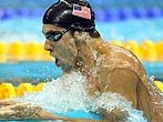 Michael Phelps  A swimming Phenomenon who won an incredible eight gold medals at the 2008 Beijing Games.