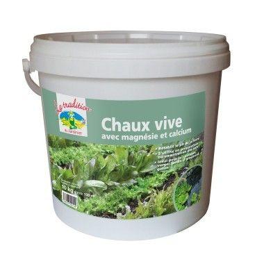 Jardiland CHAUX VIVE AGRICOLE  Jardiland 13,95 € Soit 1,40 € le Kilogramme Poids 10 kg