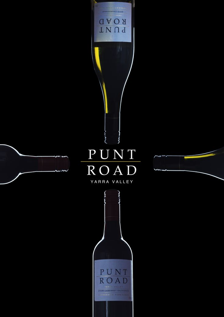 Punt Road wine poster.