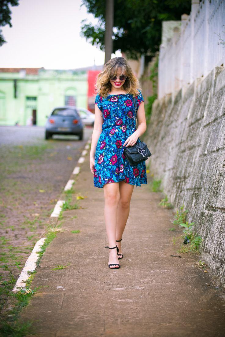 Vestido Estampado - LOOK! Taciele Alcolea