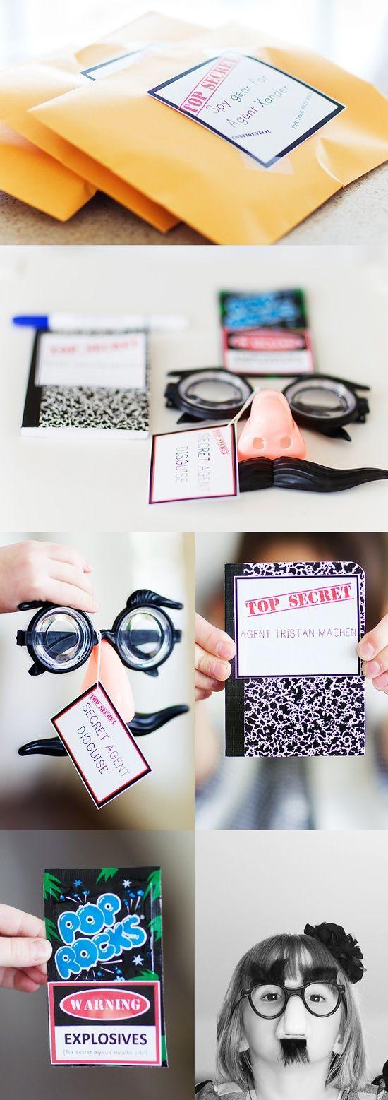 Spy Kits - Love the Glass and the pop rocks