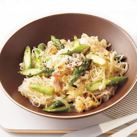 しらたきカルボ | 小林まさみさんの料理レシピ | プロの簡単料理レシピはレタスクラブネット