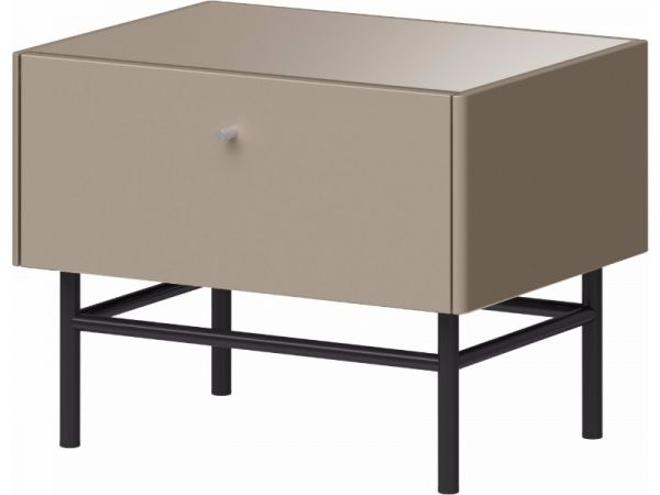 Germania Contemporary Monteo Bedside Table in 2 Finish Options