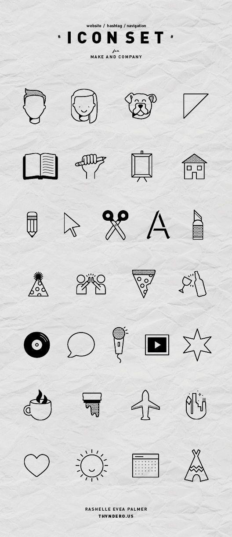 Icon design - rashellepalmer