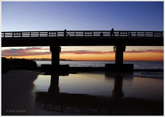 The MAX files ~ Sunset at the pier ~ Port Elizabeth, Eastern Cape, South Africa