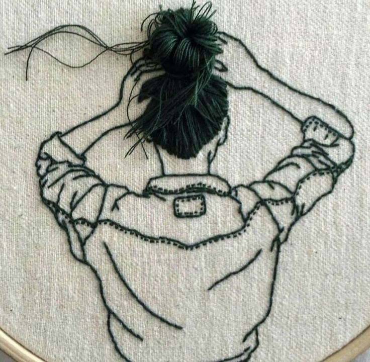 Stylish piece of embroidery | Стильная вышивка