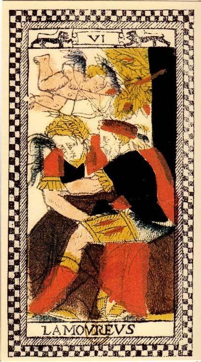 Tarot de Paris - The Lovers