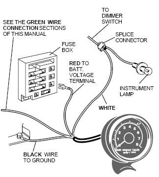 bc143db918051bfb7d5d1831dc69d9ef wiring diagram for sunpro super tach 2 readingrat net tachometer wiring diagram for motorcycle at bakdesigns.co