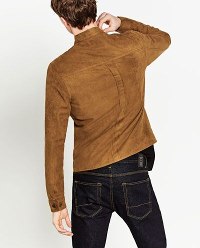 Image 4 of SUEDETTE JACKET from Zara
