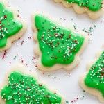 Looking for the perfect frosted sugar cookies for cutouts? This is it! Delicious, mildly flavored, and they don't spread in the oven!