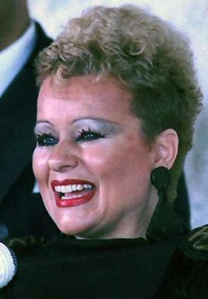 "Tammy Faye Bakker.  My grandmother followed her and Jim very closely.  As an adult, I had a lot of disdain for Tammy Faye, until I saw the documentary ""The Eyes of Tammy Faye"".  It shed a lot of light on the wrongs committed against the Bakkers, and poor Tammy's efforts to maintain her personal dignity."