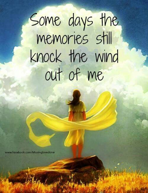 Most days do! Some memories are still too hard. I miss you Mom!
