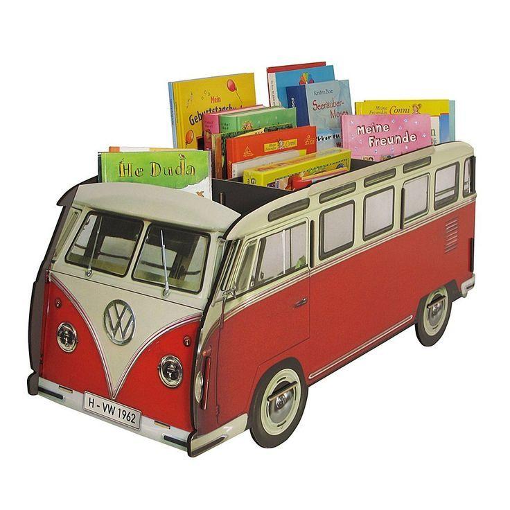 Bücherbus VW kreatives Bücherregal für das Kinderzimmer