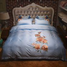 Brand new arriving Blue floral embroidered bedding set tencel silk soft bedclothes king queen size Boho 4pcs duvet cover bed sheet set Pillowcase now available for purchase US $191.17 with free delivery  you'll find this particular item and more at our website      Grab it right now at this site >> http://bohogipsy.store/products/blue-floral-embroidered-bedding-set-tencel-silk-soft-bedclothes-king-queen-size-boho-4pcs-duvet-cover-bed-sheet-set-pillowcase/,  #BohoStyle