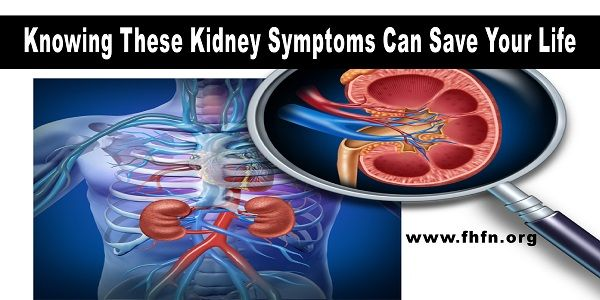 Knowing These Kidney Symptoms Can Save Your Life | Family Health Freedom Network