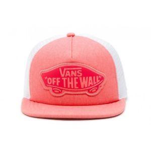 a gorra vans rosa tela