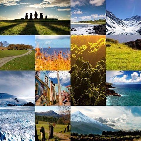 Chile es un país ubicado en el hemisferio sur, se considera un país tricontinental, es decir, poseyendo territorios en tres continentes. En este sentido el territorio se divide en Chile continental, Chile insular (dividido en Chile Insular Oceánico y Chil