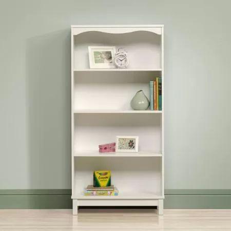 Sauder Storybook Bookcase, Soft White