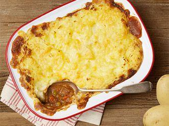 Beef & Potato Pie