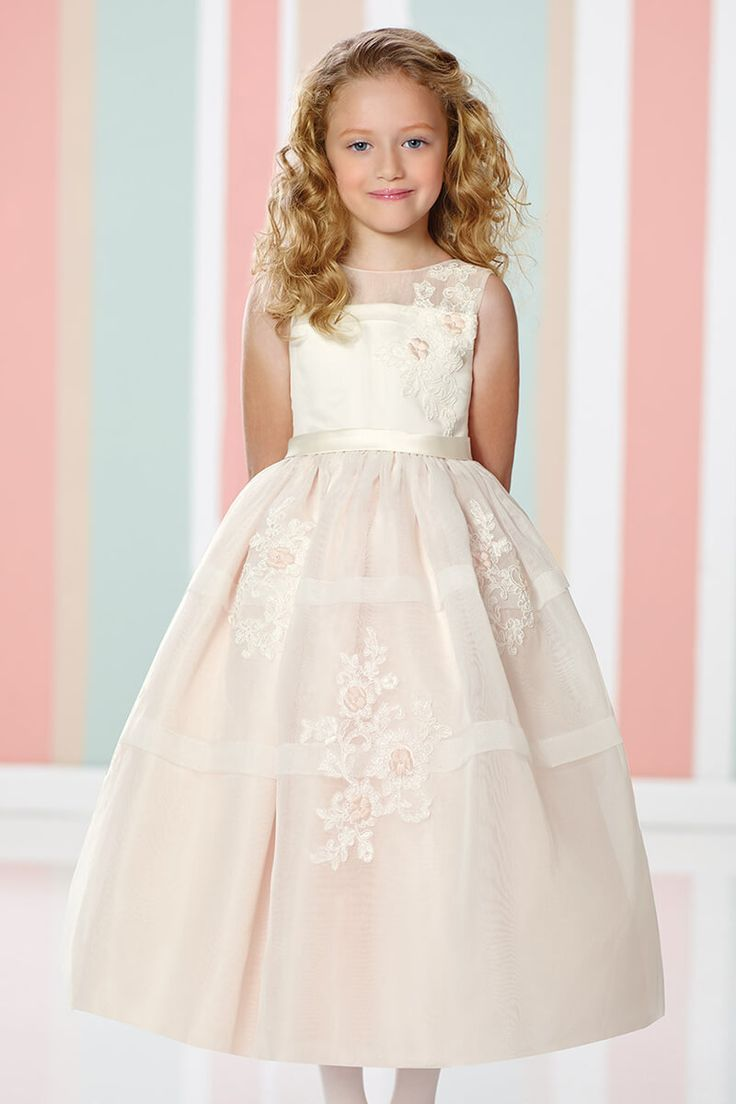 a2da48a9836 Flower Inspired A-Line Flowergirl Dress in 2019