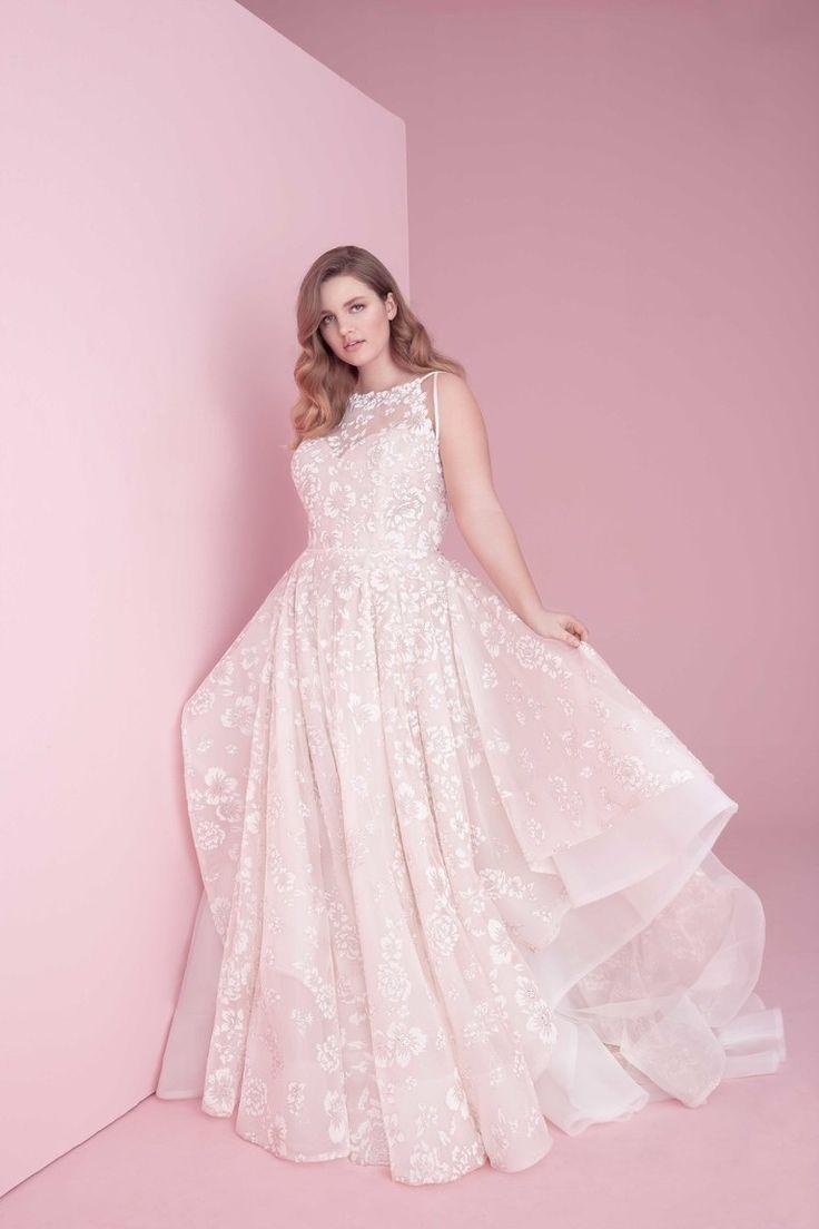 Bonito Vestido De Novia Lazzaro Ornamento - Colección del Vestido de ...
