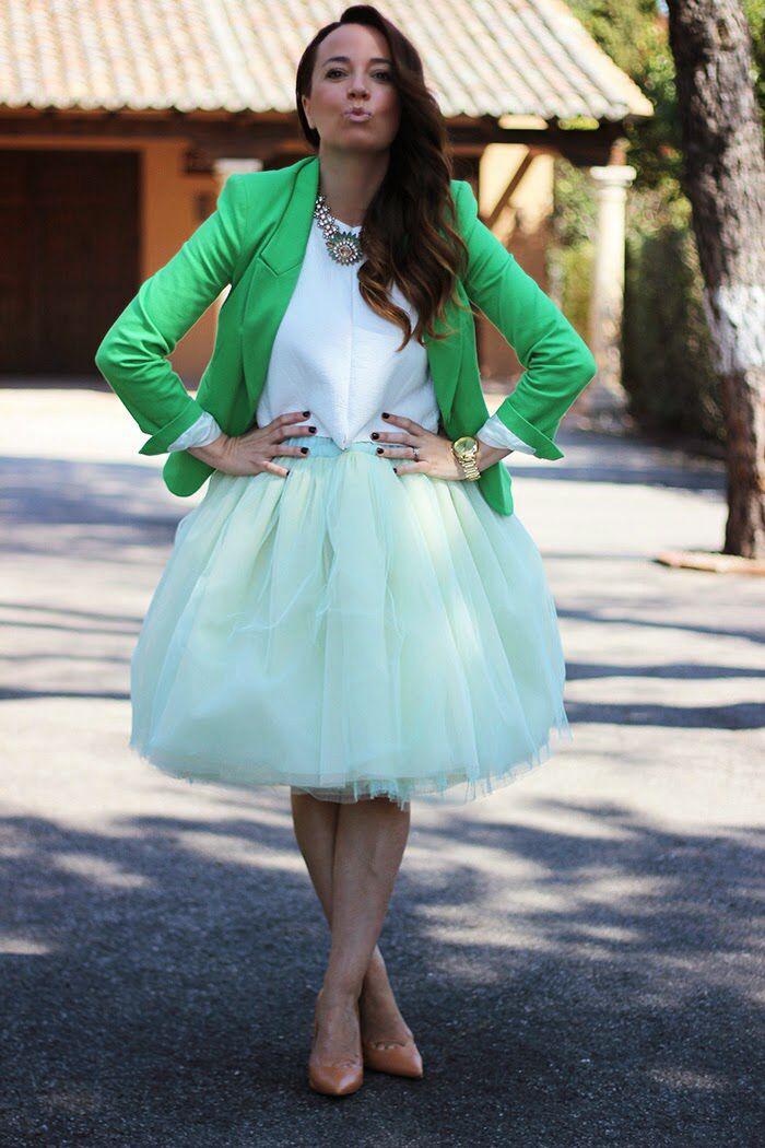 6481667bf Falda tul. Blog armario de silvia   Clothes   Faldas de tul, Faldas ...