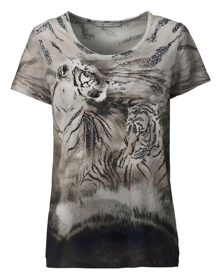Shirt kat/el print allover