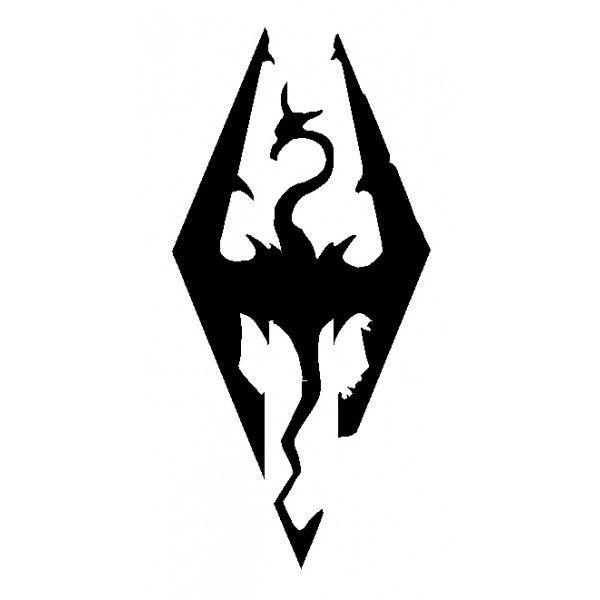 skyrim logo - Google Search | Logo/Graphic | Pinterest ...