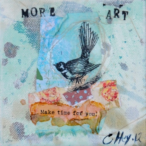 Make time for you. by Claire Hey