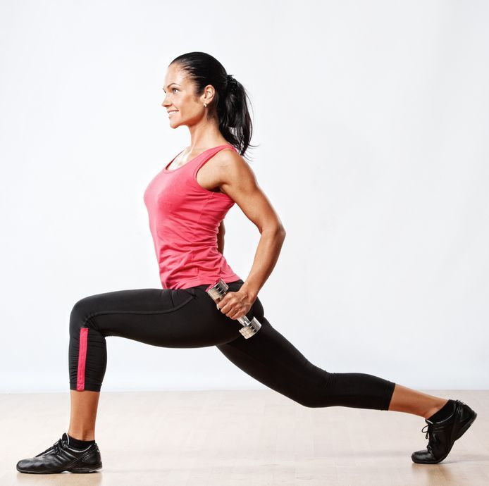 Blast Cellulite With This Workout - resistance training to tone your legs and reduce cellulite.