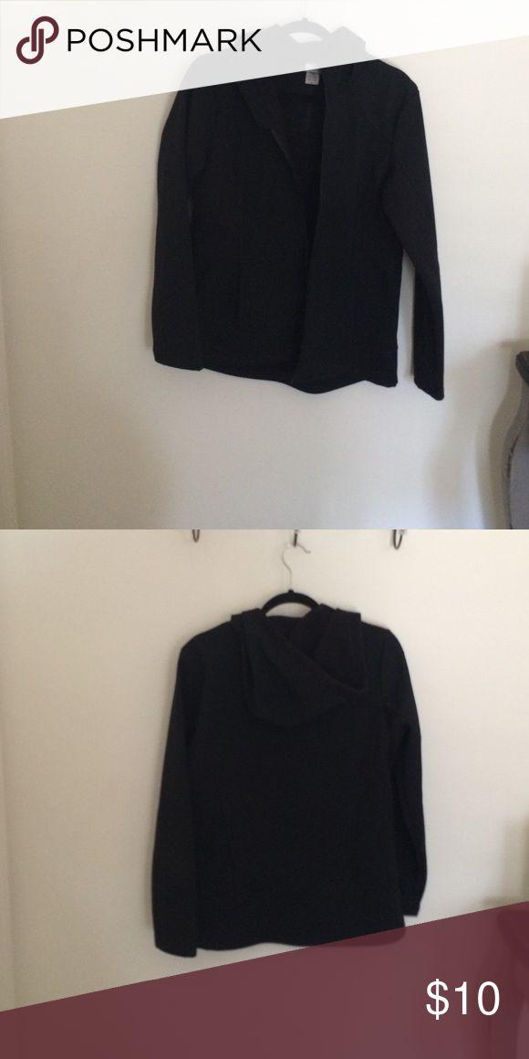 A black Champion jacket. A black Champion hooded jacket. Champion Jackets & Coats